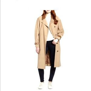 Sosken Trench Coat Tan Size 3 (12-14) New